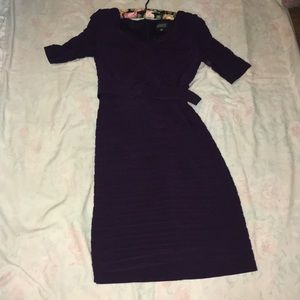 Adrianna Papelll fitted dress